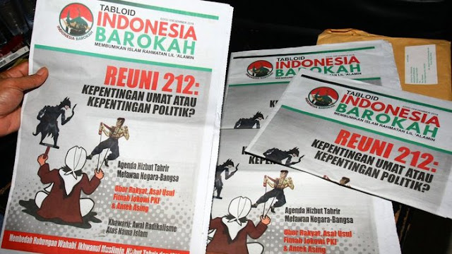 Tabloid Indonesia Barokah: Media Abal-Abal Sekaligus Media Propaganda