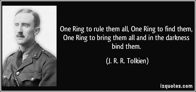 Tolkien on the Rings