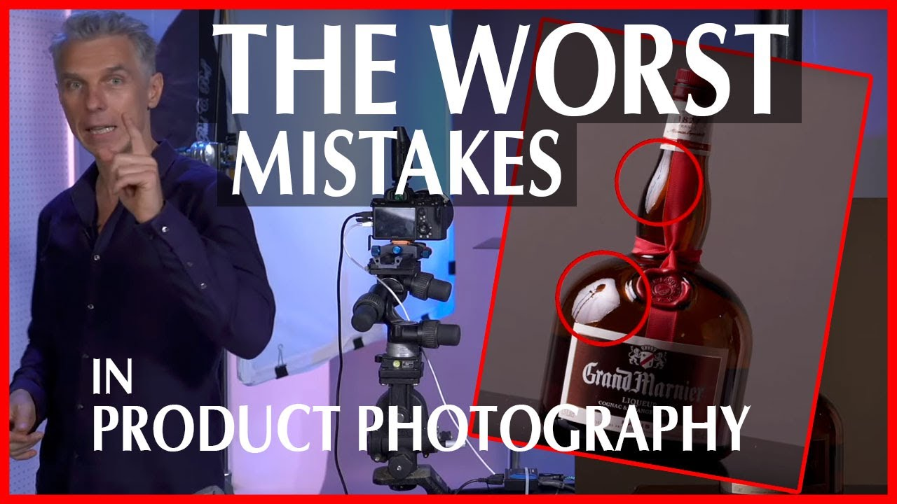 Here is how to solve the 3 WORST mistakes in PRODUCT PHOTOGRAPHY