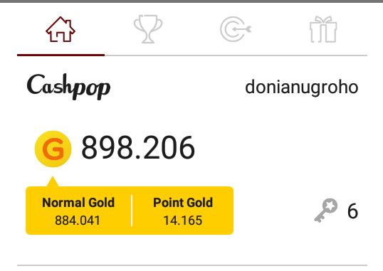Trik rahasia  cashpop dapatkan 1.000.000 gold gratis