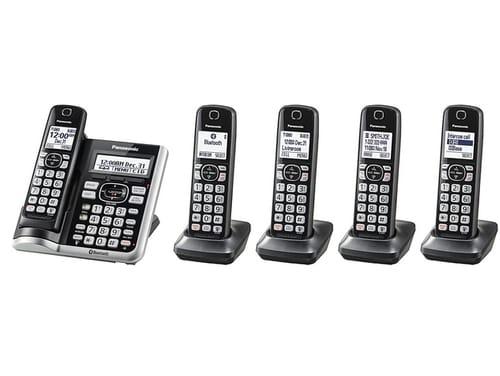 Panasonic Link2Cell Bluetooth Cordless Phone System