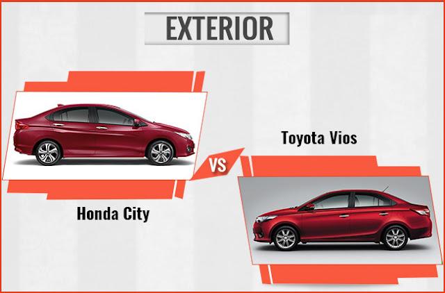 Giữa Toyota Vios 2017 và Honda City, tôi biết chọn xe nào 01