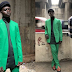 Homeless man sleeping under bridge in Lagos wows photographer after he modeled for them when the model hired was running late (photos).