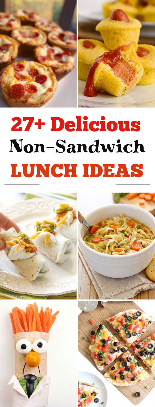 27+ Non-Sandwich Lunch Ideas | recipes lunch | recipes non sandwich | lunch recipes for work | recipes lunch healthy #nonsandwich #lunch #easylunch #lunchrecipes