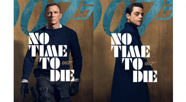 James Bond No Time To Die Film Posters Featuring Daniel