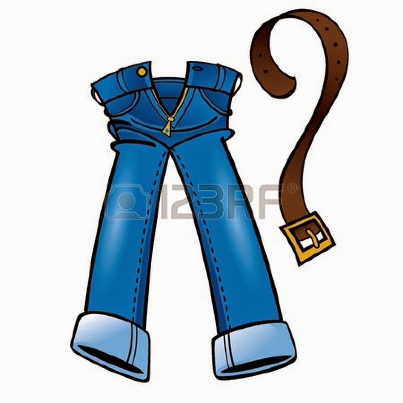 clipart picture of jeans - photo #24