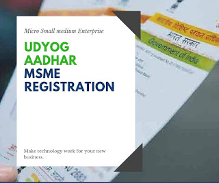 Udyog Aadhar MSME Registration