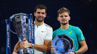 """TENIS - Grigor Dimitrov se hace """"Maestro"""" de la ATP 2017"""