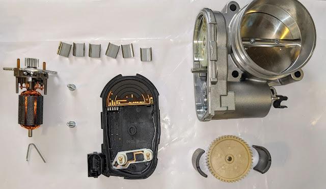Bosch 0 280 750 474 Throttle Body Parts