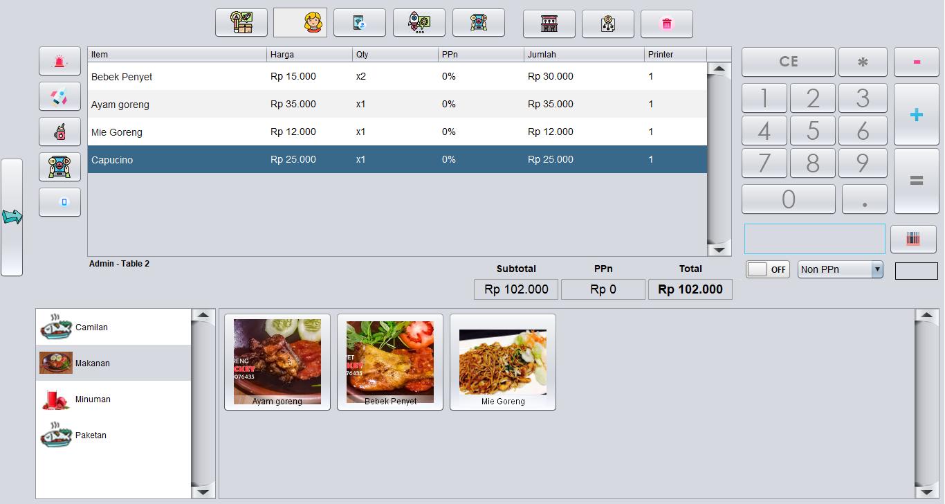 program software restoran cafe rumah makan