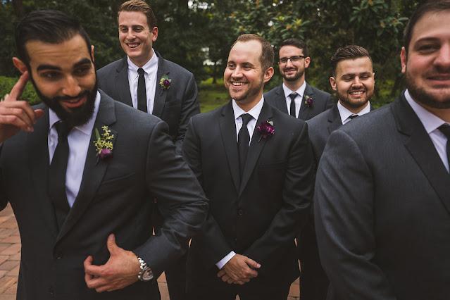 groomsmen talk