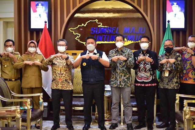 Herman Deru Dorong Pertamina Hulu Rokan Tingkatkan Produksi Migas Sumsel