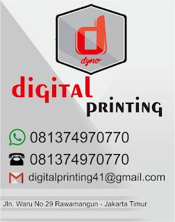 Percetakan Digital Printing terdekat