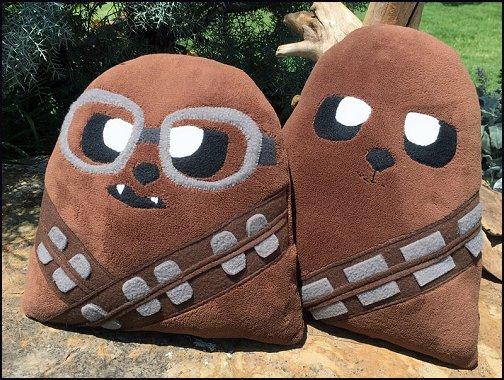 Chewbacca Pillow