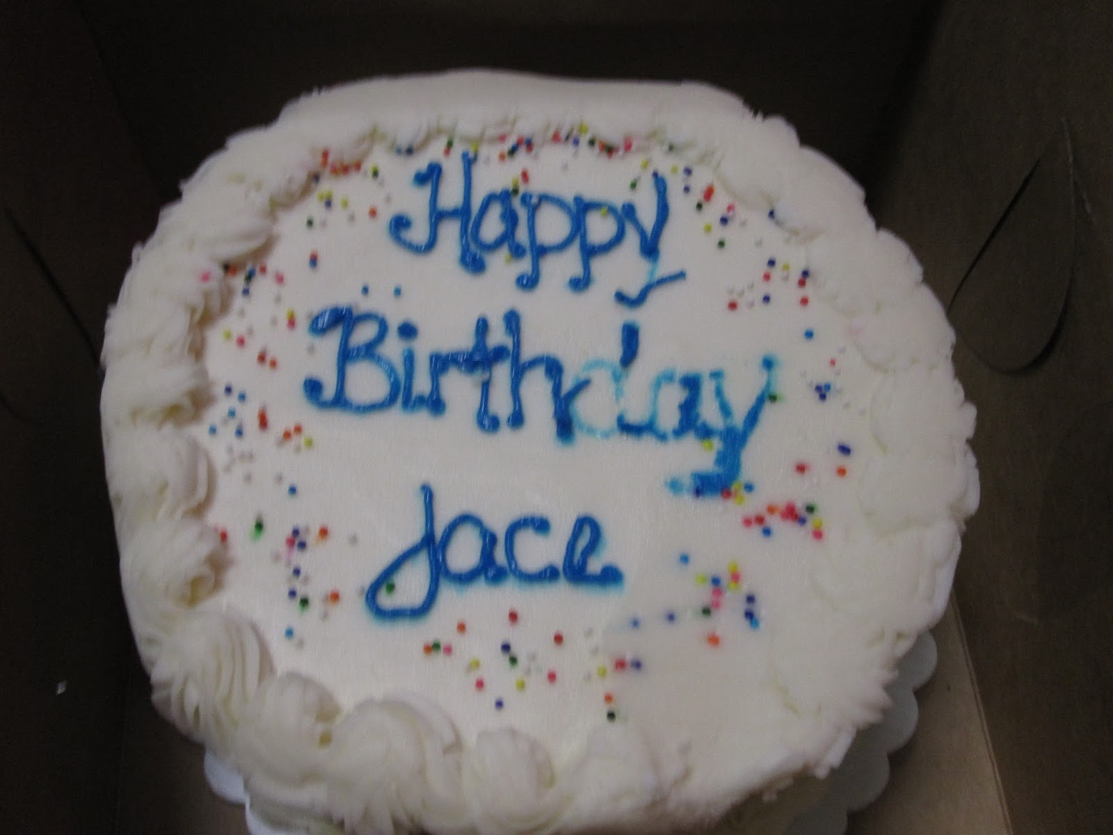 At the Starting Gate : Happy Birthday Jace!
