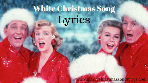 White Christmas Song