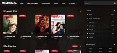 MoviesBaba Website