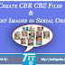 Fixed: Create CBR CBZ File and Insert Images in Serial Order