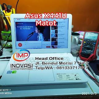 Servis Laptop Asus X441 Mati Total di Surabaya, Profesional, Murah dan bergaransi
