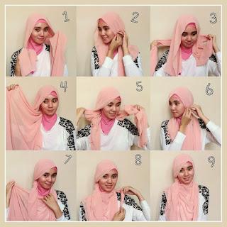 Gambar Hijab Wajah Bulat