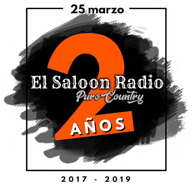 2 años a Puro Country. Felicidades El Saloon Radio.