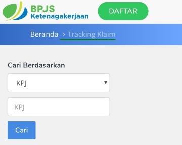 Tracking Klaim BPJS Ketenagakerjaan atau BPJAMSOSTEK
