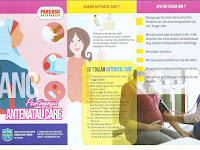 DOWNLOAD LEAFLET ASUHAN ANTENATAL CARE DOC