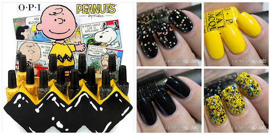 Fierce Makeup and Nails: Halloween 2014 Peanuts Collection from OPI