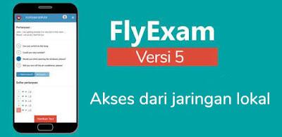 Setting FlyExam Supaya Bisa Diakses Dari Jaringan Lokal/LAN