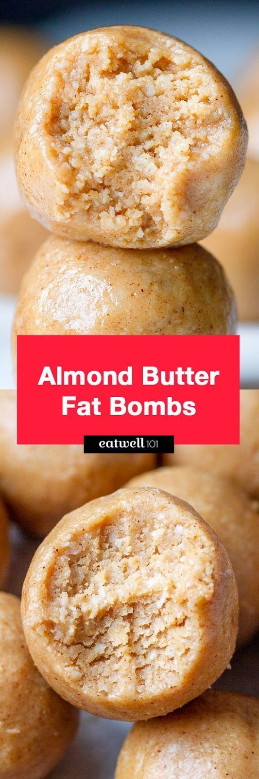 3-Ingredient Almond Butter Fat Bombs
