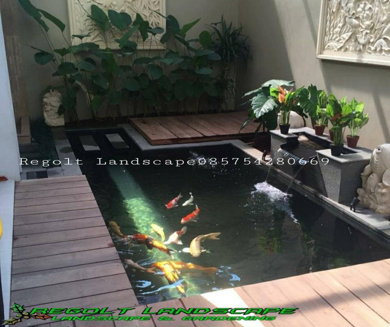 Jasa Pembuatan Kolam Ikan Koi, Kolam Minimalis Di Bali