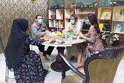 Kapolsek Medan Helvetia Menghadiri Acara Buka Puasa Bersama Keluarga Besar Putri Indonesia Sumut