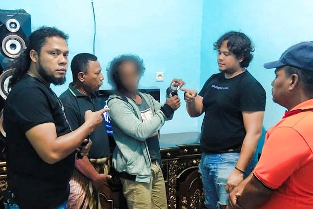 Seorang sopir di Bima Kota merangkap jadi bandar sabu
