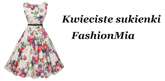 Kwieciste sukienki z FashionMia