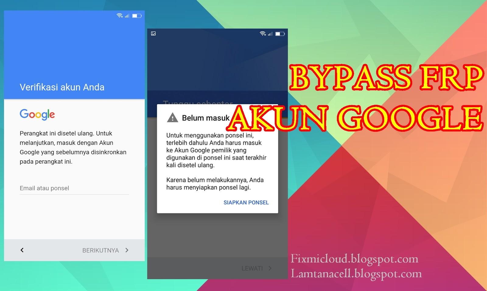 Cara Bypass FRP Lock Akun Google Pada Xiaomi Mi Max Prime (Helium