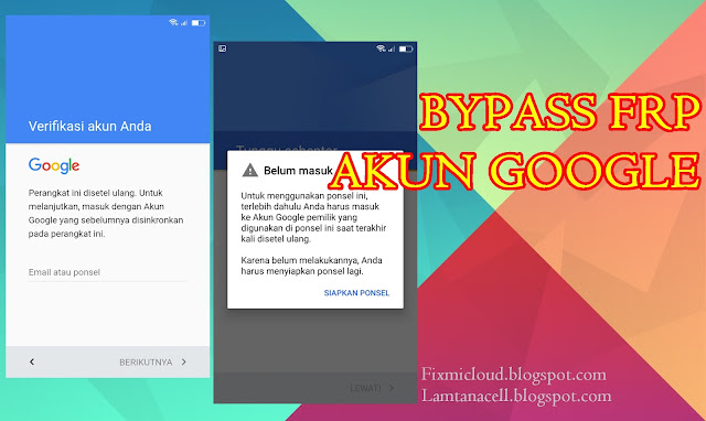 Cara Bypass FRP Akun Google Infinix Note 4 X572 via SP Flashtool