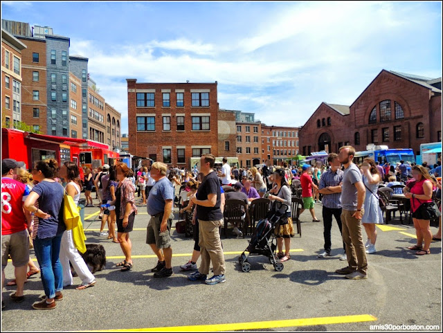 Food Trucks en el SoWa