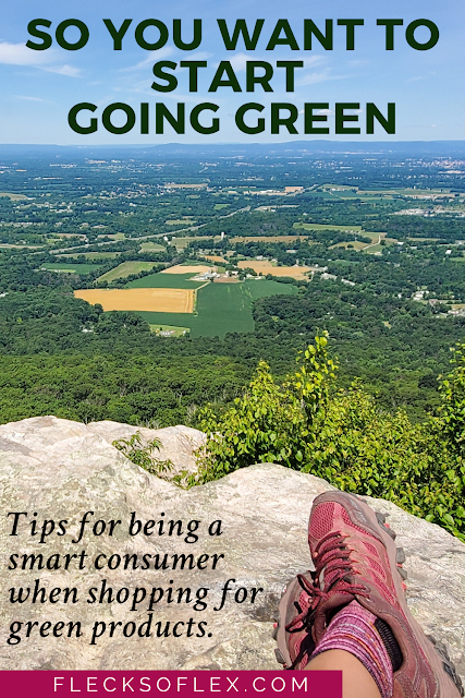 So you want to start going green?