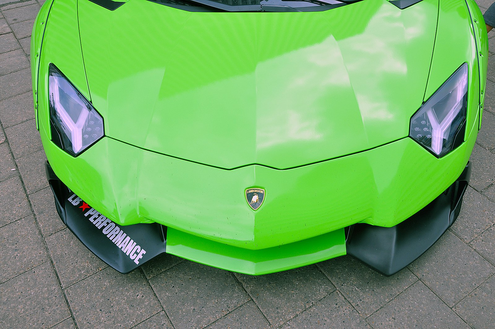 Cars Don T Get Much Crazier Than A Lime Green Liberty Walk Lamborghini Aventador