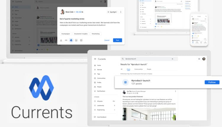 Google launches Currents to replace Google+