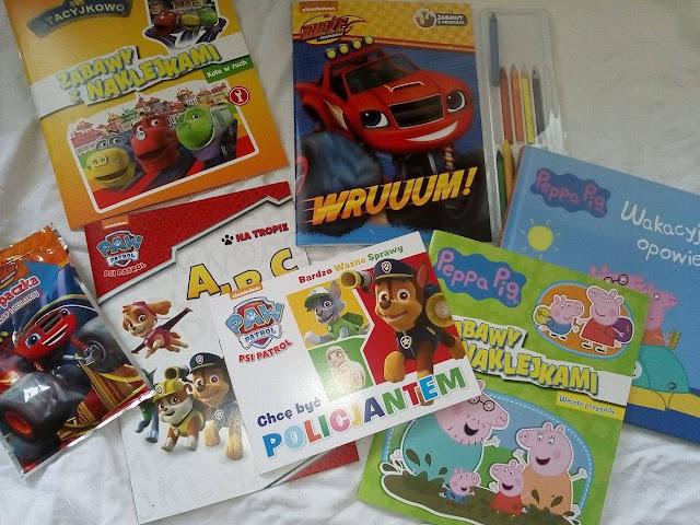 Książeczki, bajeczki - propozycje wydawnictwa Media Service Zawada wywołują uśmiech na twarzy każdego dziecka.