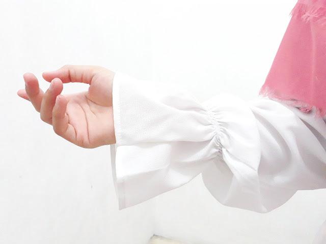 ruffle sleeve