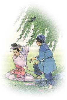 Pn Tays Blog: Legend of Cowherd (Niu La牛郎ng) and Fairy
