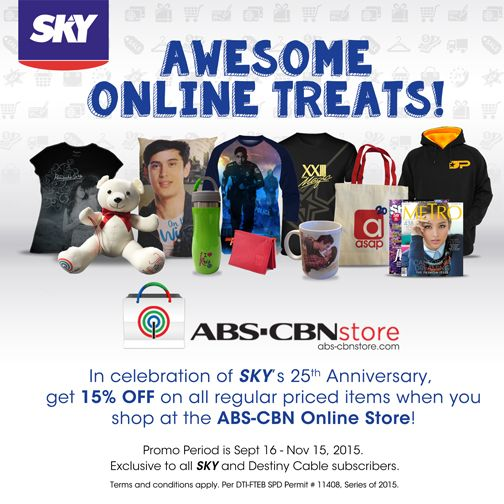 Awesome Online Treats from the ABS-CBN Store