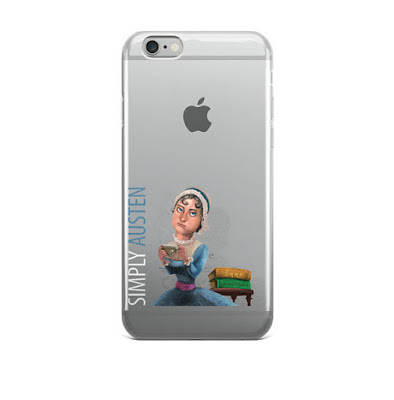 Simply Austen iPhone Case on Etsy with review by Tomes and Tequila blog