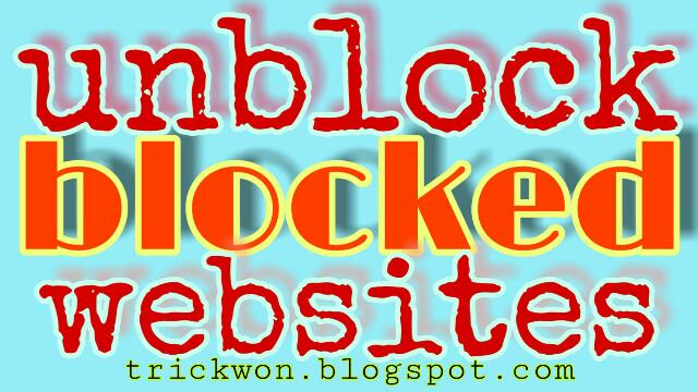 How to unblock and access blocked websites from school | Best 5 Ways