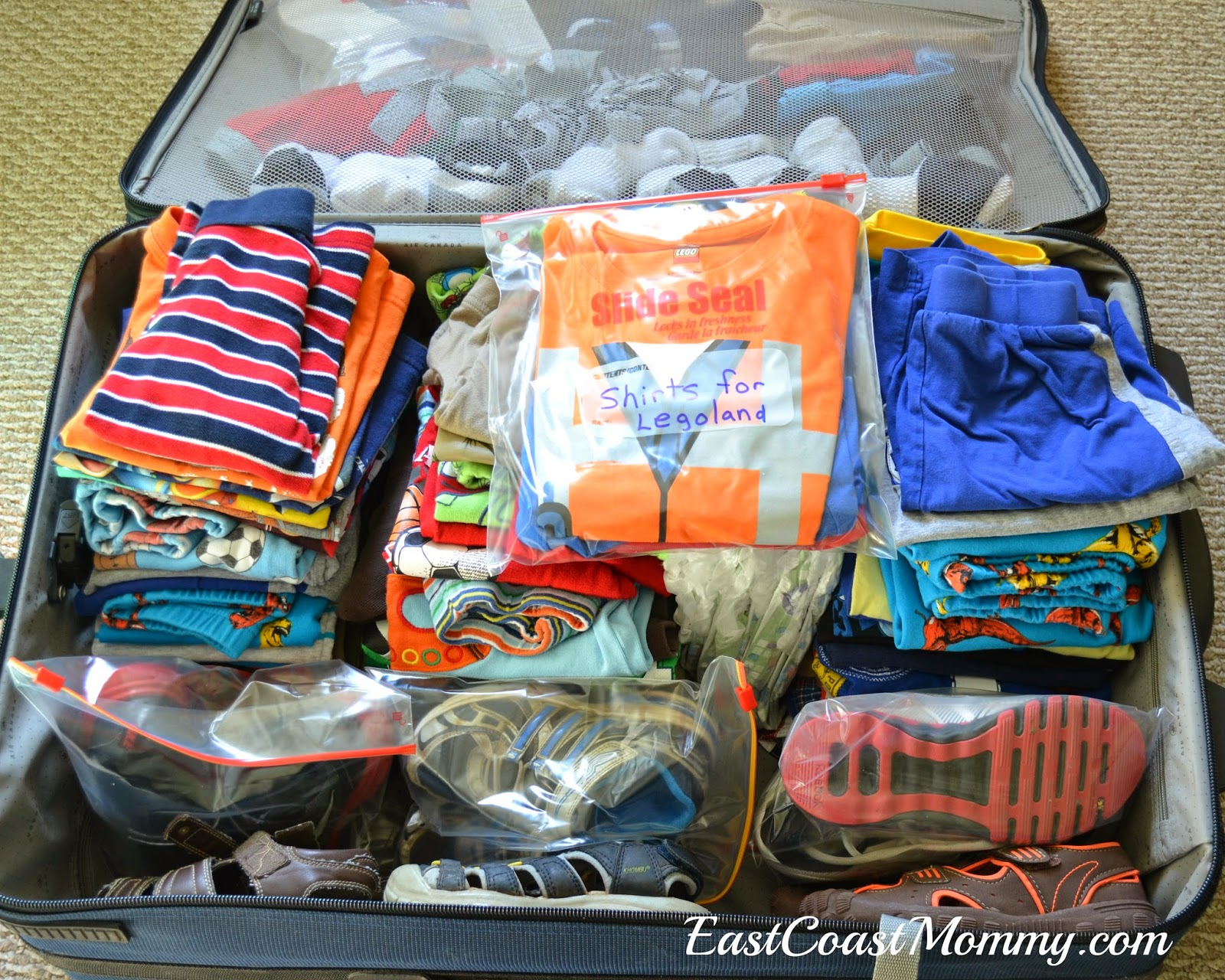 East Coast Mommy Packing Tips For Families