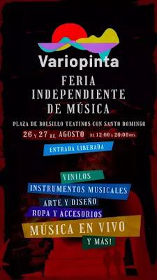 Feria Variopinta: Música en todas sus dimensiones en el centro de Santiago