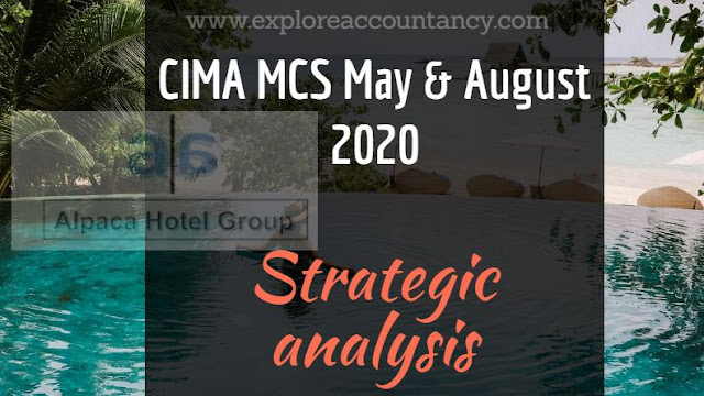 Strategic Analysis video of MCS May & August 2020  - Alpaca Hotel Group