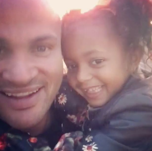 Mel B's ex Stephen Belafonte cuddles up with daughter for the first time in 8 months